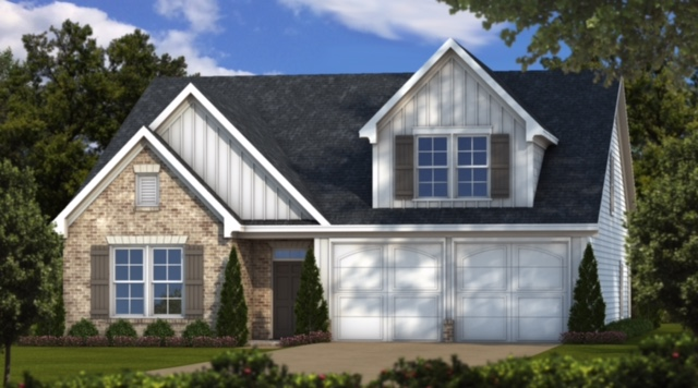rendering of home at nestledown farms
